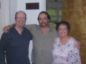 Steve Jaxon with Mike & Jean-Marie